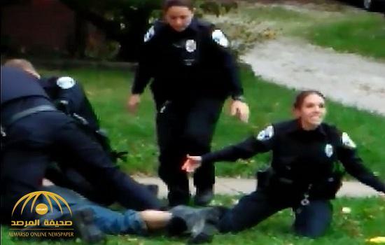 شاهد.. كيف تعامل عناصر من الشرطة الأمريكية مع مشتبه به في أوهايو – فيديو