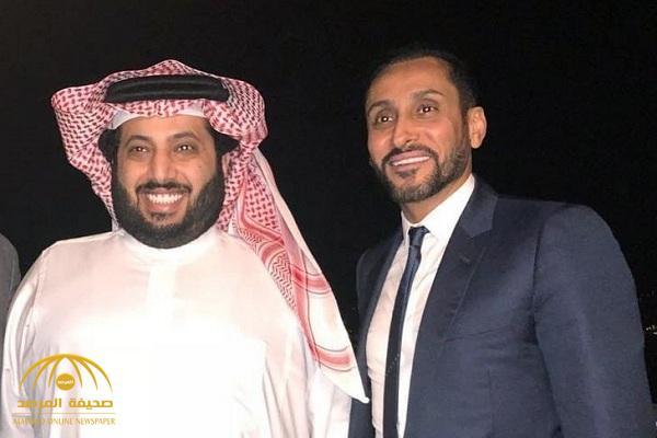 """آل الشيخ يعين  """"الجابر"""" مساعدا له في اتحاد التضامن الإسلامي والاتحاد العربي وممثلاً للمملكة في الفيفا"""