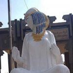 """بالصور.. طلاء تمثال """"الفلاحة المصرية"""" الشهير في مصر يثير سخرية نشطاء التواصل"""