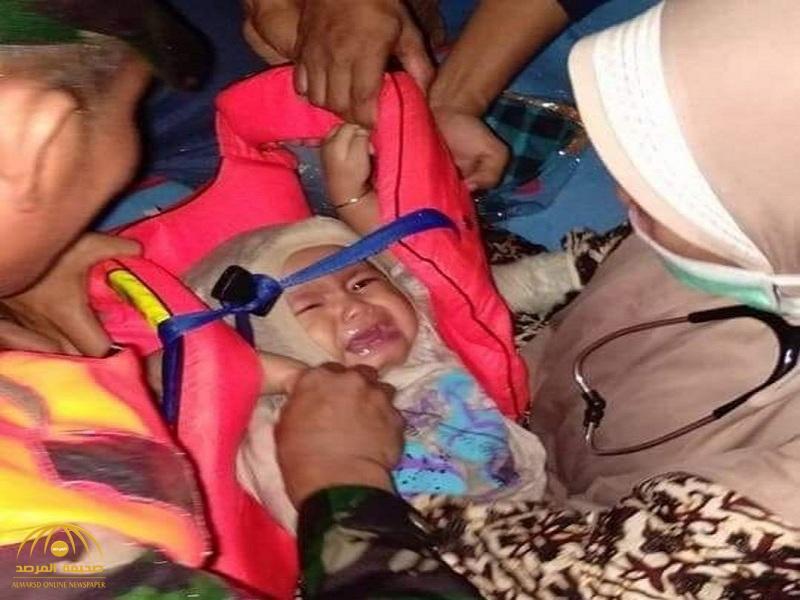 """كشف حقيقة صورة """"الطفلة"""" الناجية الوحيدة من حادث الطائرة الإندونيسية!"""