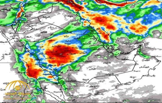 «الجهني» يكشف عن حالة وسمية هي الأقوى منذ سنوات في المملكة.. ويوضح «خط سير »الأمطار