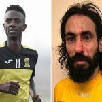 """هل تكون هذه اللقطة في مباراة الاتحاد  سبب  وراء ضرب اللاعب """"حسن معاذ""""  لـ""""حسين عبد الغني"""" -فيديو"""