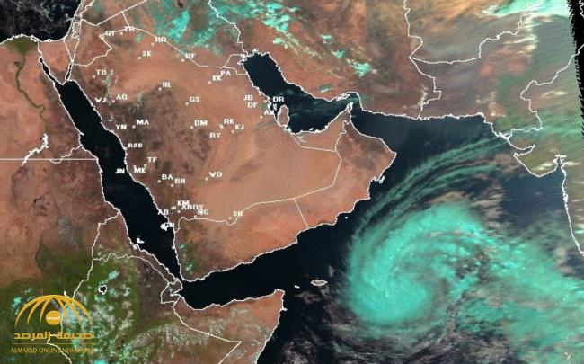"""السعودية .. """"لبان"""" يمكن أن يتحول لإعصار مداري"""