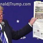 أول رد من ترامب على تقرير نيويورك تايمز بشأن احتياله الضريبي