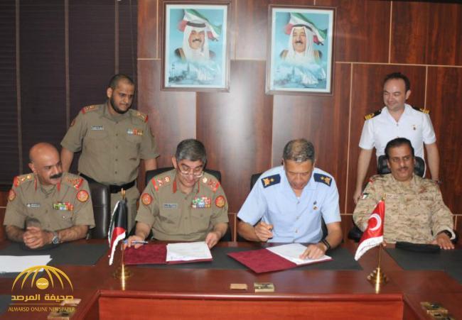 الجيش الكويتي يعلن عن توقيع تعاون دفاعي مع الجيش التركي!