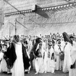 """شاهد .. صورة """"نادرة"""" لأكبر أبناء الملك عبد العزيز إلى جانب عمه الأمير عبدالله بن عبدالرحمن"""