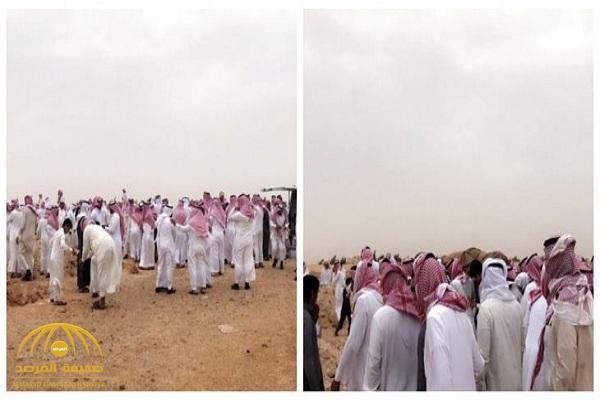 ترك خلفه 9 بنات.. تشييع جثمان المواطن معتق الشراري الذي قتل بالأردن -صور