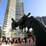 """الكشف عن """"رمز السلام"""" في بيروت"""