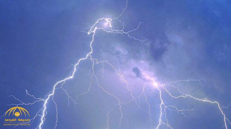 """""""الأرصاد"""": توقعات باستمرار هطول أمطار رعدية على هذه المناطق!"""