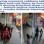 في وضح النهار .. شاهد بالفيديو :  لحظة هجوم مسلحين على 25 برازيلياً في شارع عام وأخذهم رهائن !