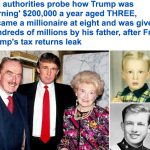 نيويورك تايمز توضح أصل ثروة دونالد ترامب وتكشف عن سجل العائلة الحافل بالتهرب الضريبي – صور