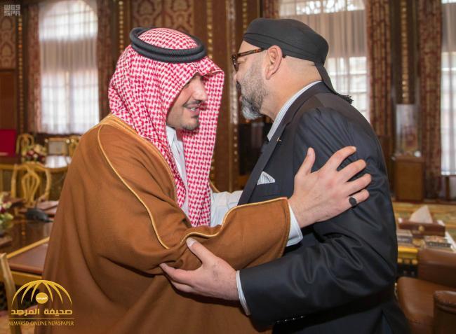 بالصور .. ملك المغرب يستقبل وزير الداخلية في القصر الملكي بالرباط .. وهذا ما دار بينهما!