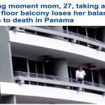 """بالفيديو : لحظة سقوط  فتاة من الطابق الـ 27 بسبب """"السيلفي"""""""