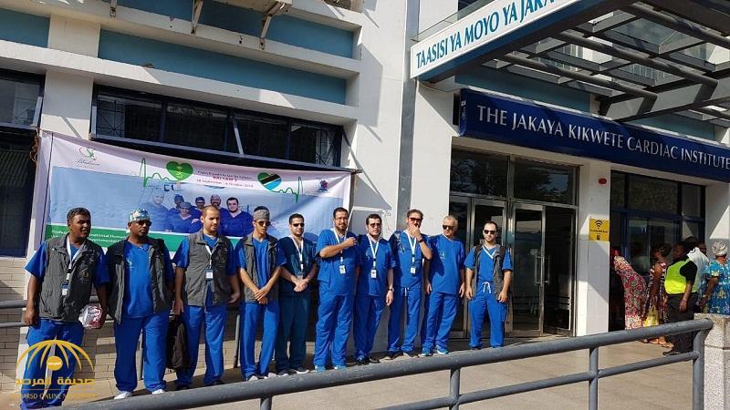 بالأسماء والصور .. فريق أطباء القلب بمنظمة البلسم الدولية يغادر إلى دار السلام .. وإجراء 5 عمليات قسطرة فور وصولهم