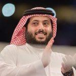 """شاهد : تركي آل الشيخ ينشر صورة تجمعه بـ """"أبنائه"""" الثلاثة .. وهكذا علق عليها"""