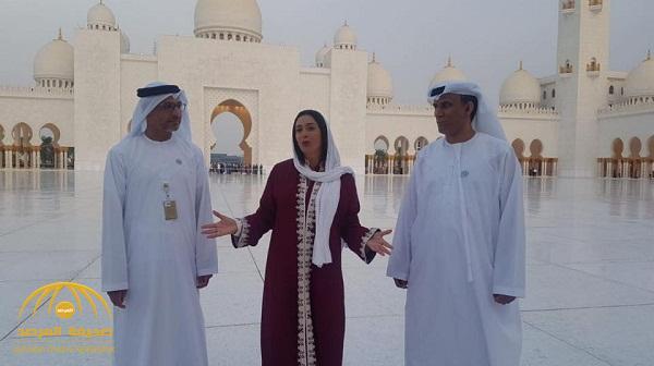 بالفيديو والصور .. وزيرة إسرائيلية تزور الإمارات وترتدي الحجاب داخل مسجد الشيخ زايد في أبو ظبي