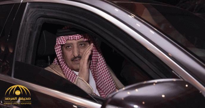"""الأمير """"أحمد بن عبدالعزيز"""" يصل المملكة قادماً من بريطانيا"""