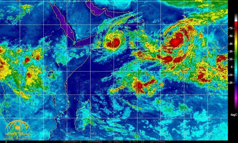 """خبير طقس يتوقع تطور العاصفة المدارية """"لبان"""" إلى إعصار مداري .. ويكشف عن مدى تأثيرها على المملكة"""