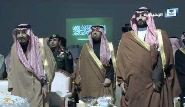 بالفيديو.. الملك سلمان يُشرف حفل استقبال أهالي منطقة الحدود الشمالية