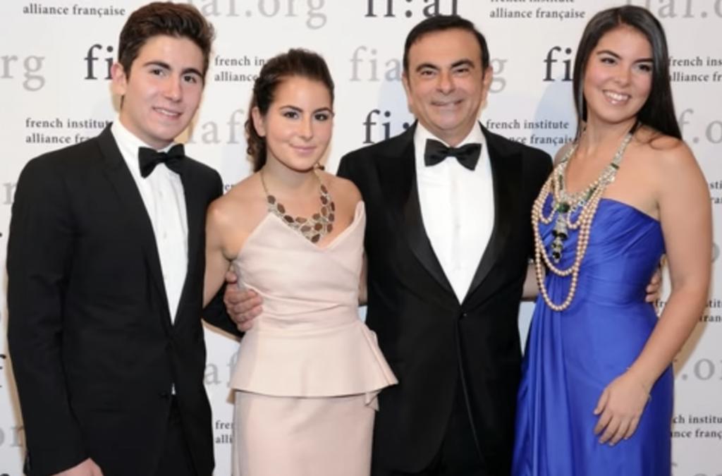 شاهد بالصور ..  عائلة كارلوس غصن: زوجته لبنانية.. وطليقته 'شامتة'