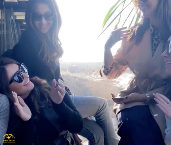 """فيديو : شذى حسون تؤكد عقد قرانها على """"إنستغرام"""""""