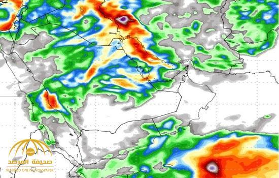 الجمعان: حالة مطرية غزيرة تضرب عدة مناطق في المملكة بداية من الخميس القادم .. وتنتهي في هذا الموعد