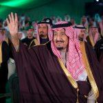 بالفيديو والصور : خادم الحرمين يُشرف حفل استقبال أهالي منطقة تبوك