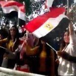 """شاهد.. كيف استقبل الشعب المصري """"ولي العهد"""" محمد بن سلمان!"""