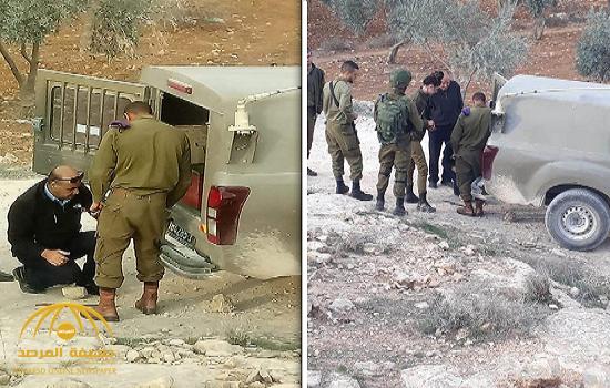 """بالصور : شاهد  مسؤول أمني فلسطيني وجنود إسرائليين """"سمن على عسل""""!"""