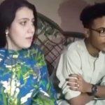 شاهد .. حسناء أمريكية تعلن إسلامها من أجل عريسها  السوداني وتعانقه وتذرف دموع الفرح!