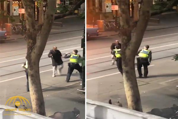قتيل وجريحان بعملية طعن في أستراليا .. وفيديو يوثق لحظة الهجوم