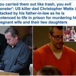 شاهد: النطق بالحكم على الأب الذي قتل زوجته وأولاده الثلاث.. والكشف لأول مرة عن دوافع الجريمة!