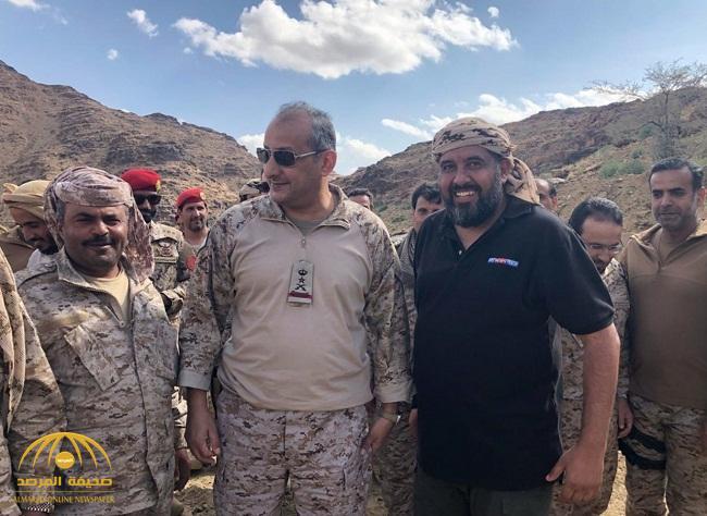 بالصور.. قائد قوات التحالف العربي فهد بن تركي في صعدة