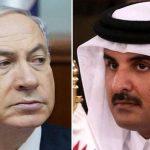 """إذاعة إسرائيلية : نتنياهو يزور قطر و """"تميم"""" يستقبله في مطار حمد"""