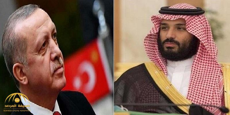 رويترز: لقاء محتمل بين أردوغان وولي العهد الأمير محمد بن سلمان
