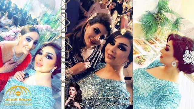 في حضور المشاهير.. شاهد: حفل زفاف فخم لابنة الفنانة الكويتية إلهام الفضالة!
