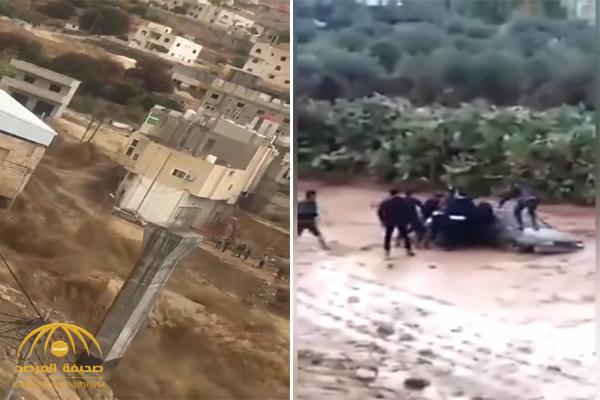 شاهد .. سيول البتراء تجتاح الشوارع وتواصل حصد الضحايا