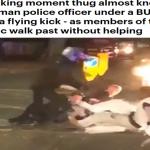 """ترجمة حصرية .. شاهد ..هجوم وحشي على ضابط إنجليزي وضابطة و""""سحلهم"""" في أحد شوارع لندن"""