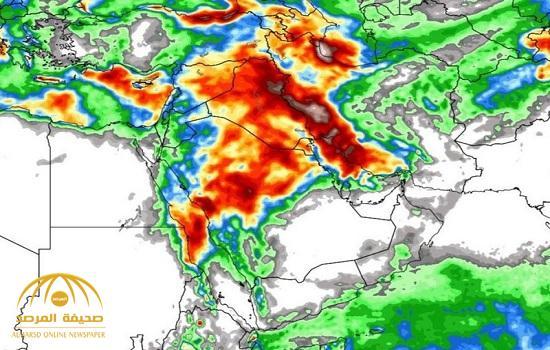 """استمرار هطول الأمطار 14 يوما.. """"الجهني"""" يكشف تفاصيل تجدد الحالة الماطرة على هذه المناطق!"""