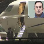 """شاهد: لحظة توقيف السلطات اليابانية اللبناني """"كارلوس غصن"""" رئيس نيسان حين حطّت طائرته الخاصة!"""