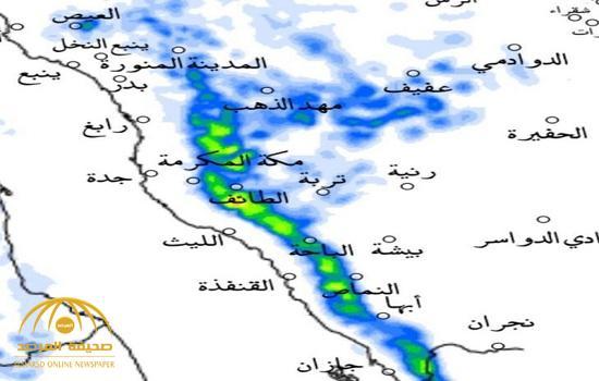 3 تنبيهات من الأرصاد بهطول أمطار رعدية ورياح مثيرة للأتربة في هذه المناطق