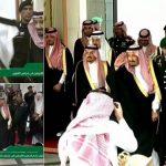 بالفيديو .. لحظة وصول الملك سلمان لافتتاح أعمال الدورة الجديدة لمجلس الشورى