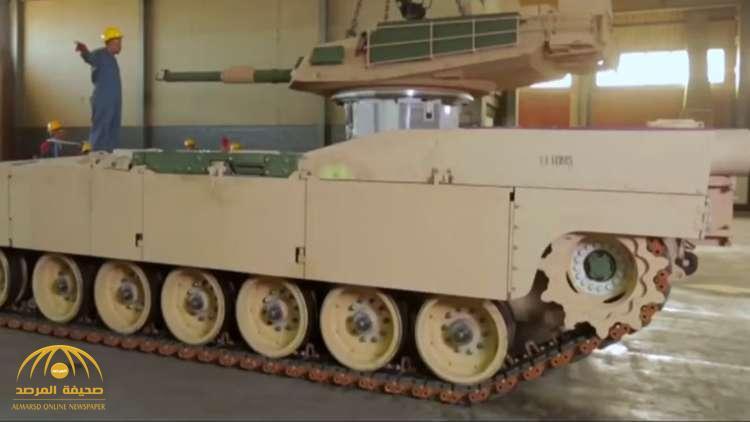 لأول مرة.. فيديو للجيش المصري يكشف عن مراحل صناعة دبابة بأيد وطنية