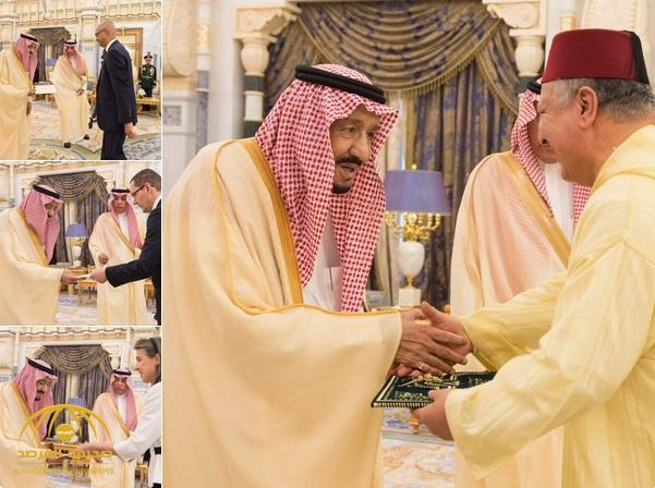 بالصور .. خادم الحرمين يتسلم أوراق اعتماد عدد من سفراء الدول الشقيقة والصديقة