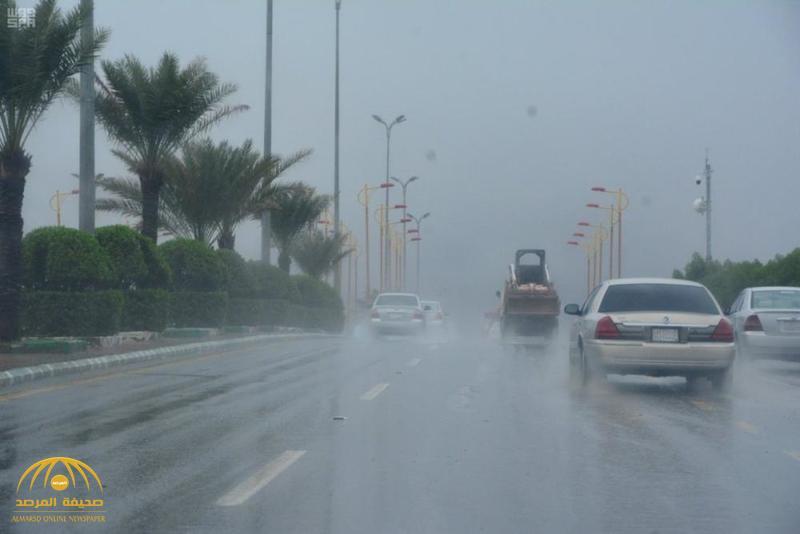 """هطول أمطار رعدية على 6 مناطق اليوم بالمملكة.. و""""الأرصاد"""" تكشف تفاصيل الحالة الجوية!"""