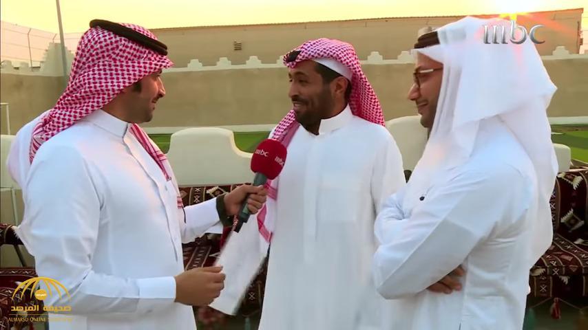 رئيس نادي الهلال يكشف سر تغريداته الدائمة ضد نظيره رئيس النصر – فيديو