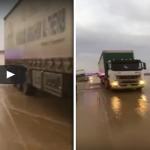 فيديو.. سائق شاحنة يصاب بحالة إغماء أثناء قيادتها على طريق سريع بالقصيم.. وهذا ما فعله مواطن لمنع كارثة محققة!