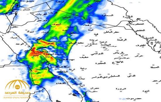 """"""" الجهني"""": يكشف عن موعد بداية ذروة عدم الاستقرار الجوي.. أمطار غزيرة تضرب هذه المناطق لمدة يومين!"""