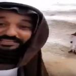 شاهد.. سعودي يصف أجواء الأمطار والشلالات باللهجة اللبنانية