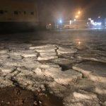 شاهد: بالصور والفيديو.. كميات كبيرة من البرد تكسو شمال الرياض والدوادمي